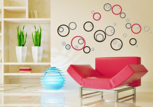 decorazioni pareti 3d stickers