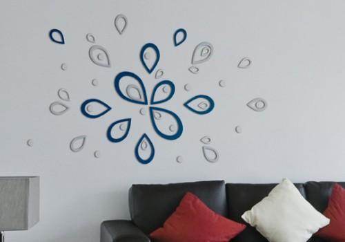decorazioni pareti 3d   stickers - Parete Decorazione Fai Da Te