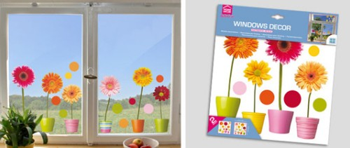 Decorazioni per vetri specchi e finestre bellacasa - Adesivi natalizi per finestre ...