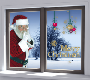 Stickers il blog di dekoidea - Addobbi natalizi per le finestre ...