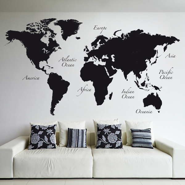 Adesivi murali stickers - Disegni parete camera da letto ...